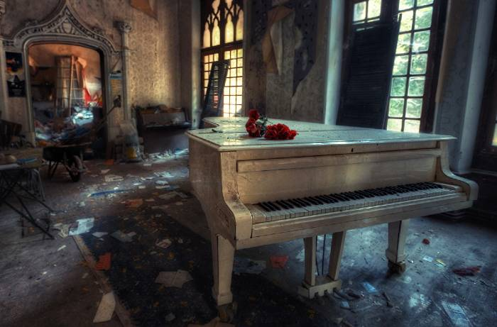 soñar con piano