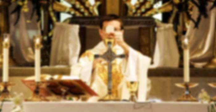 soñar con una misa